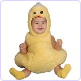 Cute Little Baby Duck Costume, 6-12 Months