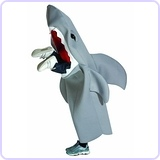 Man-Eating Shark Children's Costume, 7-10