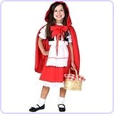 Little Girls' Toddler Little Red Riding Hood Costume 4T