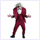 Shrunken Head Mens BeetleJuice Costume, XL