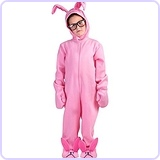 A Christmas Story Kid Pink Bunny Suit