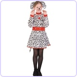 Dalmatian Costume, Child Medium/Size 8-10