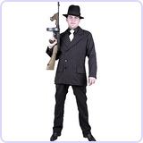 Men's Gangster Costume Suit