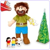Jack & The Beanstalk Hand Puppet Set
