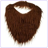 Men's Beard with Elastic