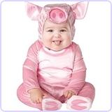 Baby's Lil' Piggy Costume