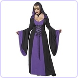 Plus-Size Deluxe Hooded Robe Costume