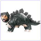 Stegosaurus Dog Costume, Medium