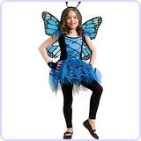 Ballerina Butterfly Blue 4-6
