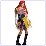 Nightmare Before Christmas Sexy Sally Costume