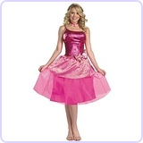 Women's Deluxe Barbie's Princess Charm School Costume