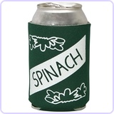 Spinach Can Koozie Standard