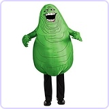 Ghostbusters Adult Inflatable Slimer Set
