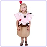 Child Cupcake Costume (Small 4-6)