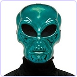 Alien Hockey Green Mask