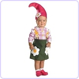 Flower Garden Gnome Costume, Toddler Small