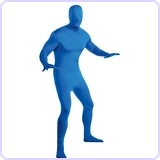 Unisex Adult Second Skin Supersuit