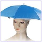 Hands Free Umbrella Hat