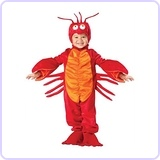 Little Boys' Lil Lobster Costume Medium (4T)