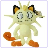 "Pokemon 11"" Plush Meowth"