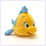 Disney The Little Mermaid: Flounder Plush