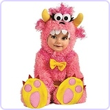 Pinky Winky Monster Romper Costume