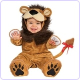 Cuddly Jungle Lil Lion Romper Costume