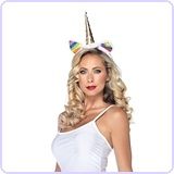 Rainbow Unicorn Headband Costume Accessory