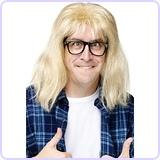 Garth Algar Wig