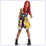 Sally Teen Costume, Medium 7/8