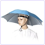 "28"" Diameter Polyester Fishing Umbrella Hat"