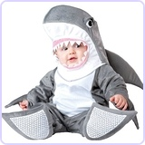 Baby's Silly Shark Costume, Small (6-12 Months)