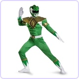 Mighty Morphin Power Rangers Green Ranger Adult Costume