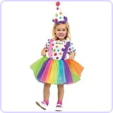 Baby Girl's Big Top Fun Toddler Costume