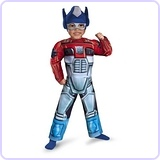Optimus Prime Rescue Bot Costume, Toddler 3T-4T