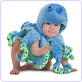 Ocean Octopus Infant / Toddler Costume - 12-18M