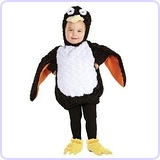 Baby's Penguin Costume