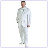 Mens White Suit (X-Large)