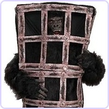 Gorilla in a Cage Costume