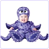 Baby's Tiny Tentacles Octopus Costume