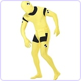 Crash Dummy 2nd Skin Suit Adult Costume