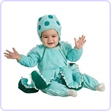 Octopus Newborn Costume