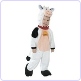 Cow Dress Up Costume Jumper (6-12 Months)