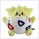 "8"" Pokemon Togepi Soft Plush Stuffed Toy"