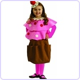Sweet Little Creamy Cupcake Costume