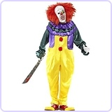 Men's Classic Horror Clown Costume