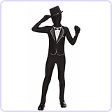 I'm Invisible Formal Suit Costume
