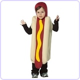 Hot Dog Costume, 3-4T