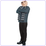 Despicable Me 2 Gru Costume and Mask