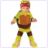 Ninja Turtles Raphael Romper Shell and Headpiece, Toddler (1-2 Years)